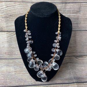 Chan Luu Crystal Briolette Necklace